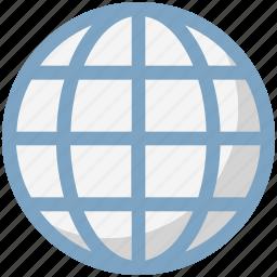 earth globe, earth grid, global network, globe, globe grid, planet, worldwide icon