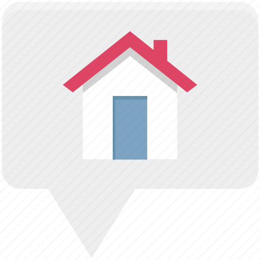 gps location, home location, house location, location, navigation location, real estate location icon