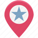 favorite, favorite location, favorite place, favorite place location, like, map pin, pin icon