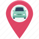 car, drive, gps, highway, map, navigation, speed icon