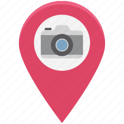camera, gps, photography, photography location, places to photograph, tourism, travelling icon