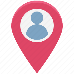 man, man location, map pin, person, person location, pin, user icon