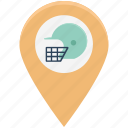 cricket location, football location, hamlet pin, map pin, sport location, sports, sports map pin icon