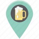 alcohol bar, bar location, beer bar, beer bar map, champagne bar location, vodka icon