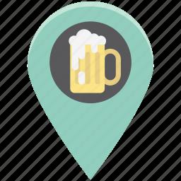 alcohol bar, bar location, beer bar, beer bar map, champagne bar location, vodka icon