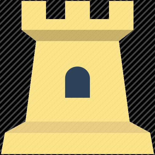castle, castle building, castle tower, fortress, kingdom castle, medieval, sand castle icon