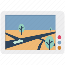 gps, location, map, map device, navigation, online map, track device icon