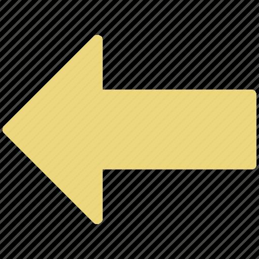 arrow, arrow location, direction location, left location icon
