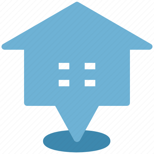 cottage, home, house, house pointed, hut, navigation pointer icon