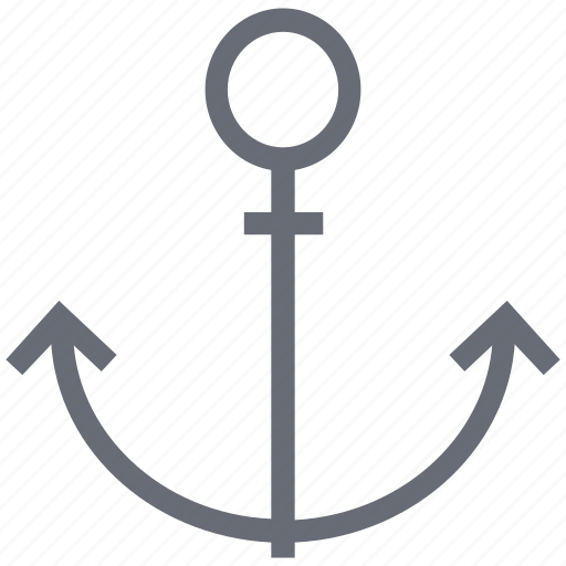 anchor, boat anchor, marine, vessel anchor, yacht anchor icon