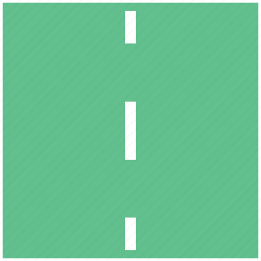 highway, passage, path, road, route, track icon