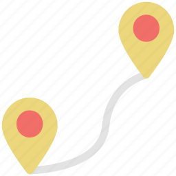 direction finder, directional, gps, location pins, navigation trajectory, navigations, track icon