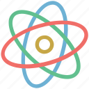 atom, chemistry, molecule, nucleus, science icon