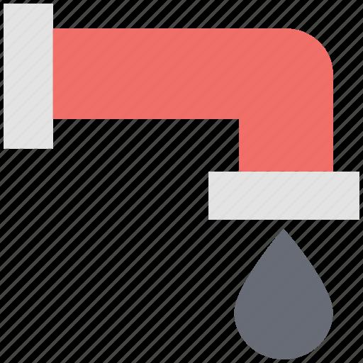 faucet, nal, plumbing, sink, spigot, tap, water nal icon