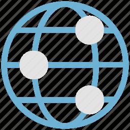 global, globe, international, navigation, universal, world, worldwide icon