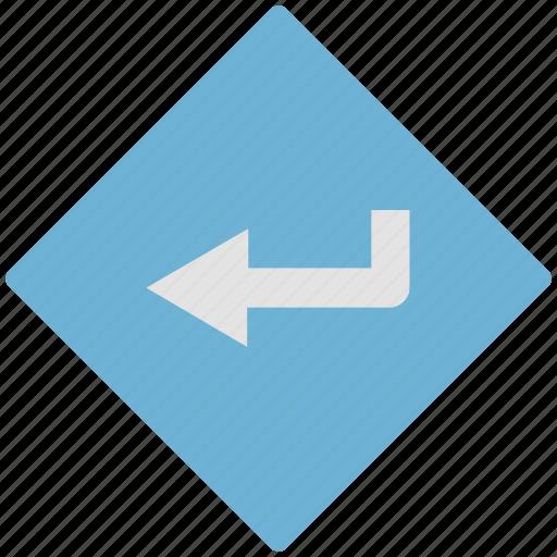 arrow, direction, left, left arrow, side icon