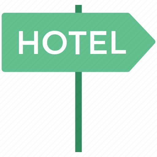 hotel signboard, info, information, information sign, navigations, signboard for hotel icon