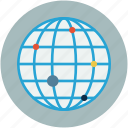globe, map analytics, map reports, monitoring, world map icon