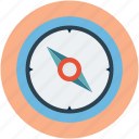arrow, cartography compass, compass, compass for location, compass for map, course, direction icon