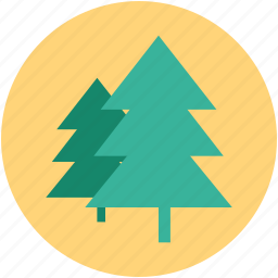 christmas tree, forest, greenery, parks, plant, tree icon