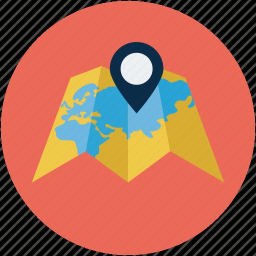 beach, beach map, gps, map, navigation icon