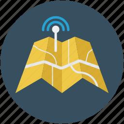 interlocking tower, map, navigation, signal tower, signalling tower, signals icon