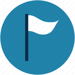 course flag, destination flag, flag, goal, location, pole icon