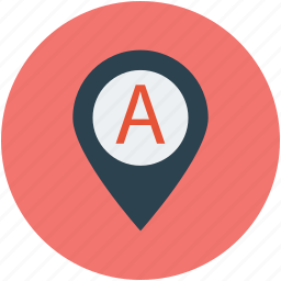location, navigation, pin, place, pointer icon