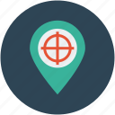 global, international, map, navigation, pin, targeting icon