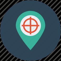 global, international, map, navigation, pin, targeting icon
