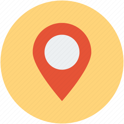 direction, map, navigation, path, pin, route icon