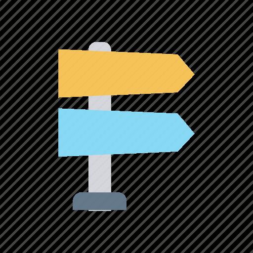 arrow, board, direction, navigation icon