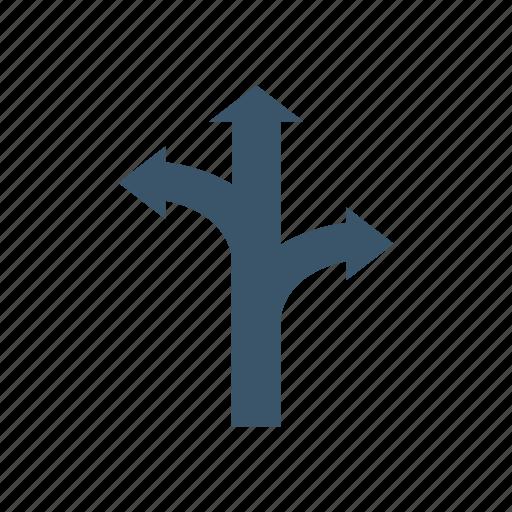 arrow, chevron, direction, path icon