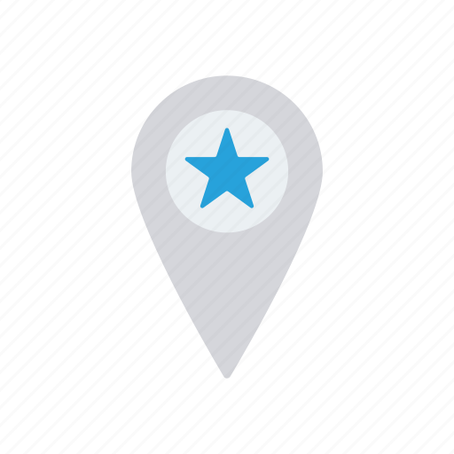 favorite, location, map, pin icon