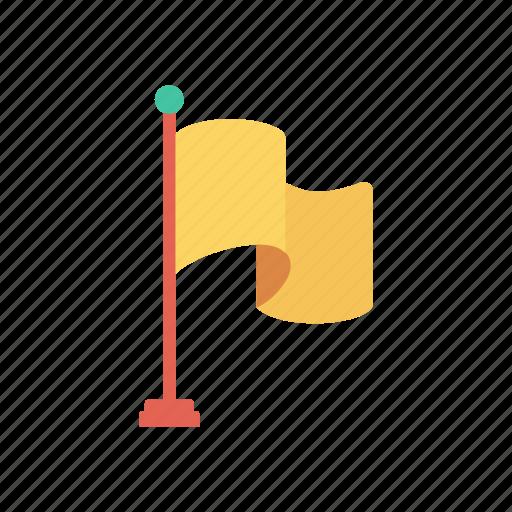 Achivement, destination, flag, goal icon - Download on Iconfinder