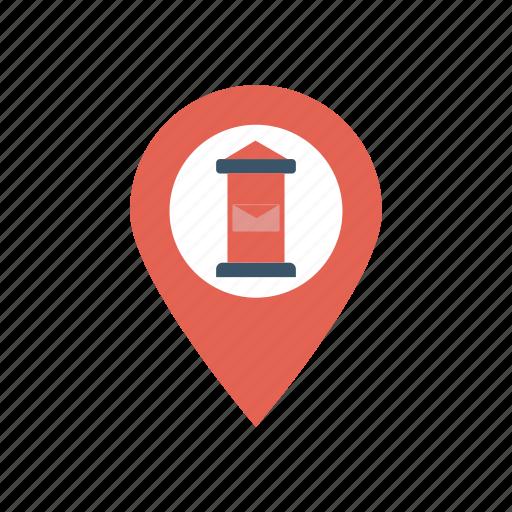 destination, location, marker, pointer icon