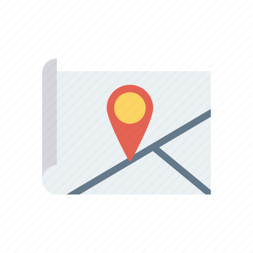 location, locator, pin, pointer icon