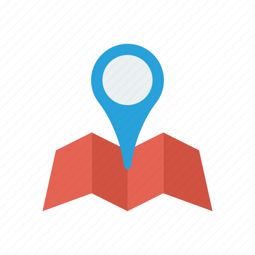direction, location, navigation, pointer icon