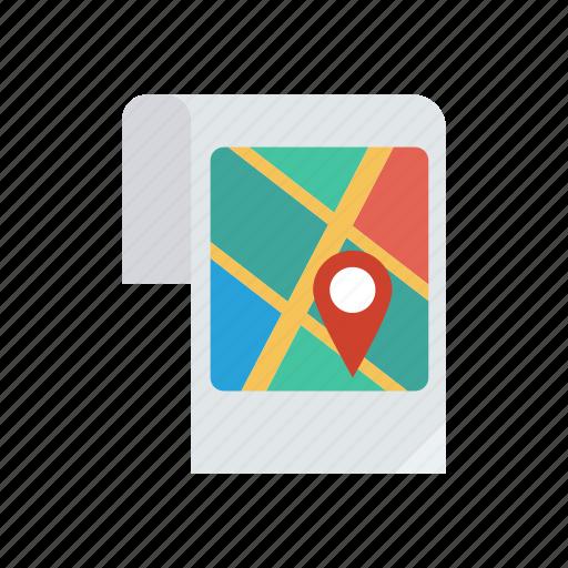Destination, gps, location, map icon - Download on Iconfinder