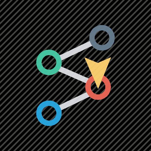 location, marker, navigation, pointer icon