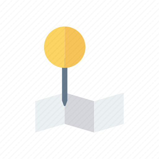 locaiton, map, navigation, pin icon