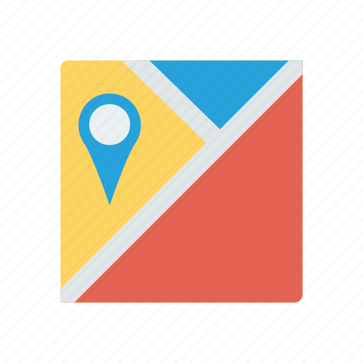 location, nearby, pin, tracking icon