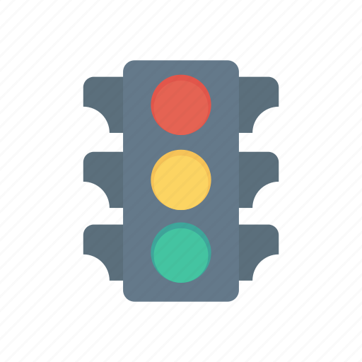 light, rule, signal, traffic icon