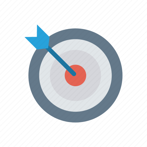 achivement, goal, success, target icon