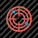 achivement, focus, goal, target icon