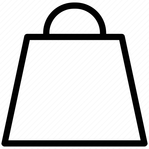 bag, paper bag, shopper bag, shopping, shopping bag, tote bag icon