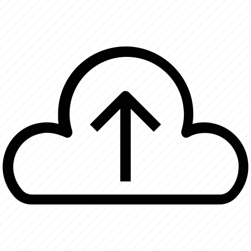 cloud, cloud arrow, cloud computing, icloud, up, upload, uploading icon