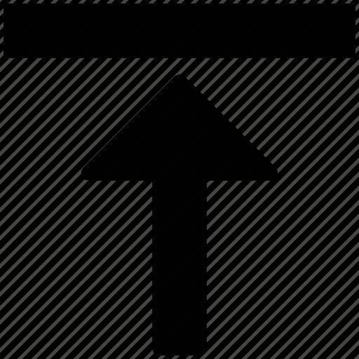 arrow, arrow key, straight, up arrow, upward icon