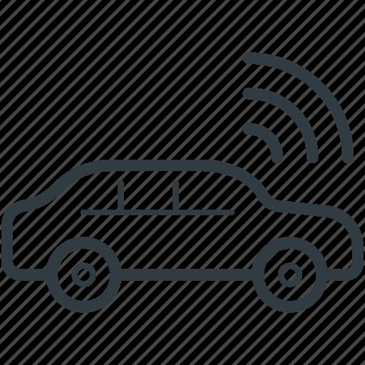autonet wifi, car, transport, wifi car, wifi signals icon