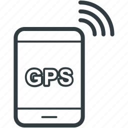 gps device, gps tracker, handheld gps, handheld navigation, navigation device icon